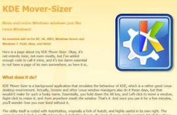 KDE Mover Sizer Website