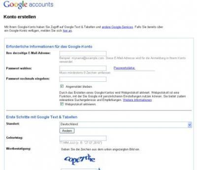 altes google konto löschen